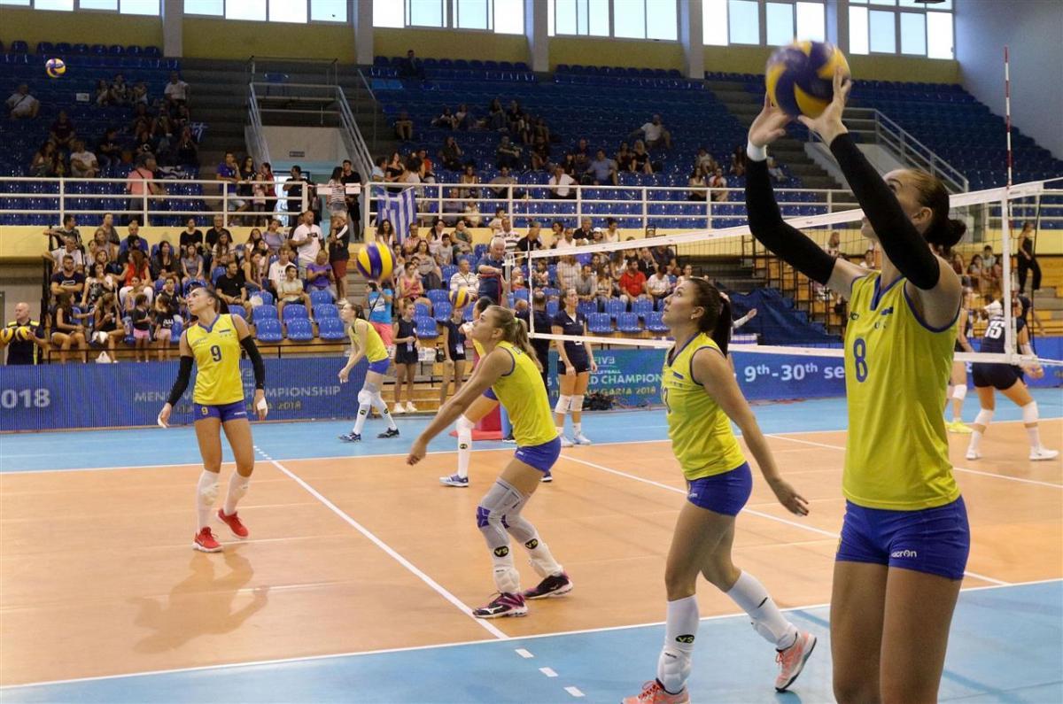 Женская сборная Украины по волейболу вышла в финальную часть Евро-2019 / ЕКВ