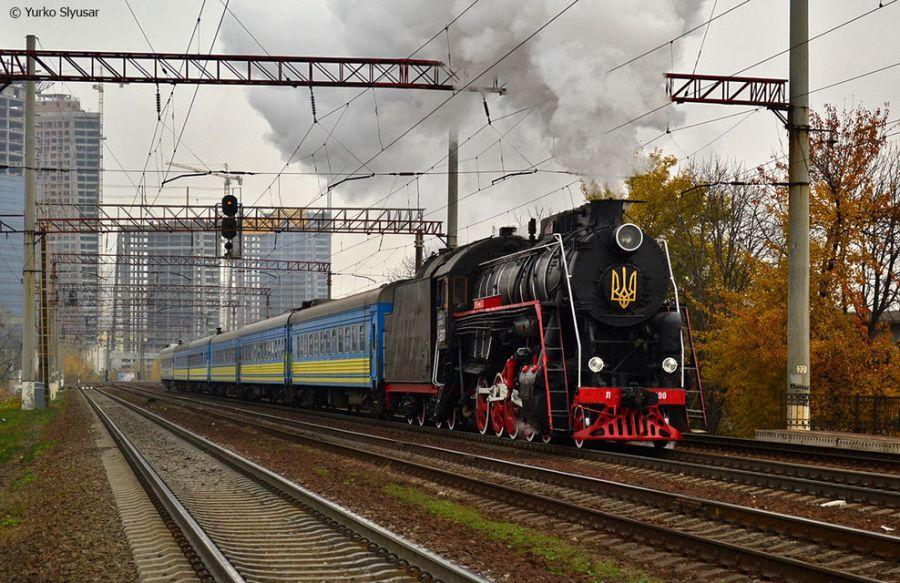 НаРождество вКиеве будет курсировать торжественный ретропоезд
