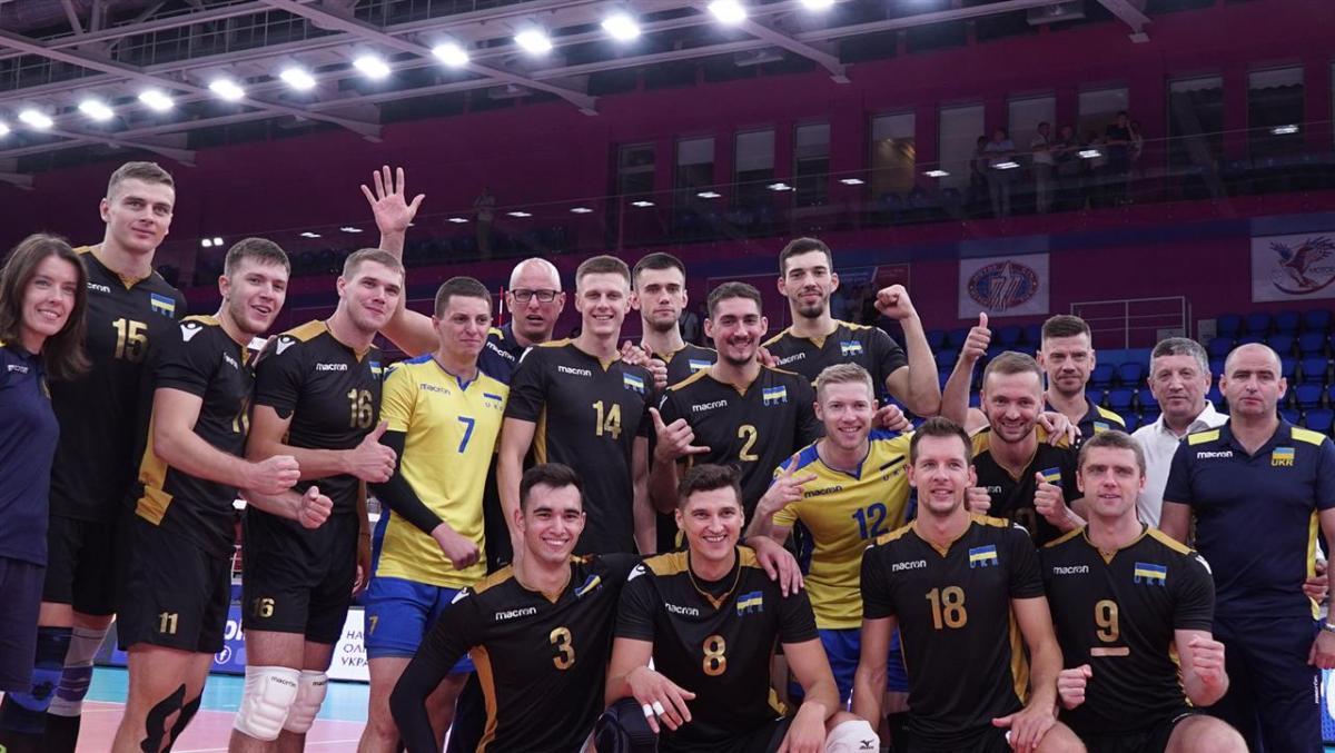Мужская сборная Украины по волейболу вышла на Евро-2019 / cev.eu