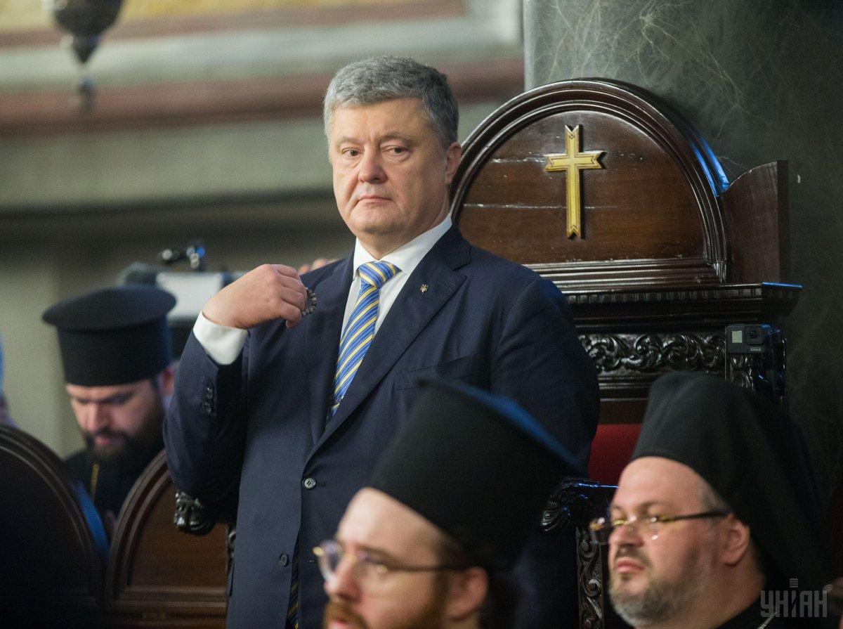 Порошенко подчеркнул, что собственная церковь для Украины является гарантией духовной свободы и залогом общественного согласия / фото УНИАН