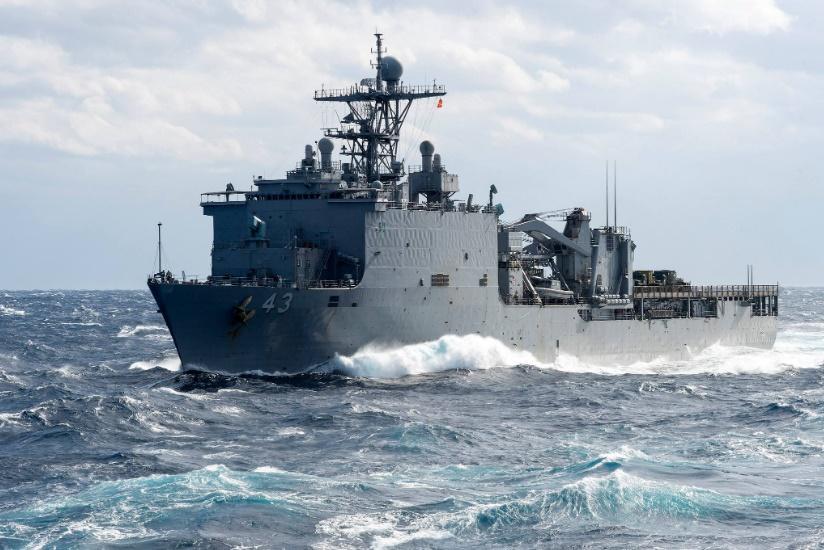В Черное море идет десантный экспедиционный корабль США / фото twitter.com/USNavyEurope