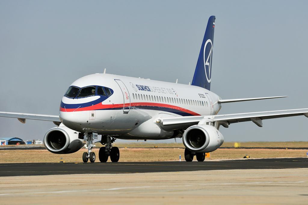 Більше 10% комплектуючих SSJ-100 виробляються в США / фото flickr.com/superjetinternational