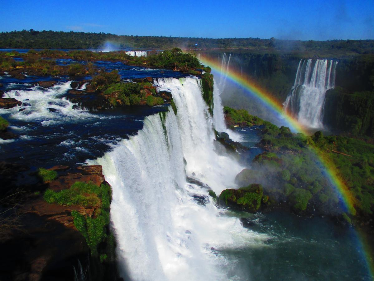 Водоспад Іґуасу в Бразилії / Фото Олександр Волощук