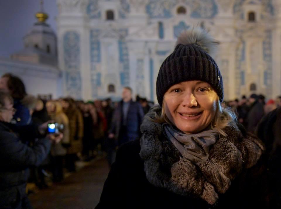Геращенко поздравила соотечественников с получением томоса / фото facebook.com/iryna.gerashchenko