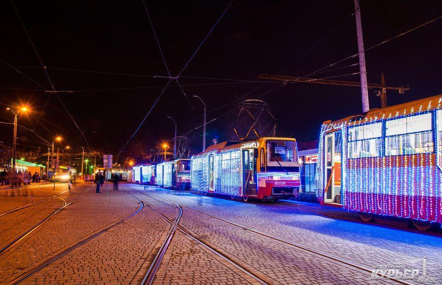 В Одессе пройдет Рождественский парад трамваев / фото uc.od.ua