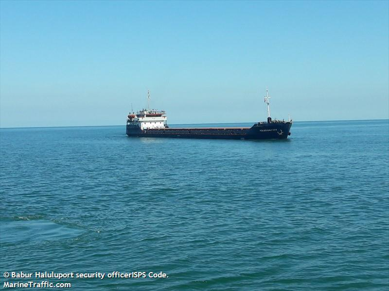 Затонуле судно VOLGO-BALT 214 / фото MarineTraffic.com