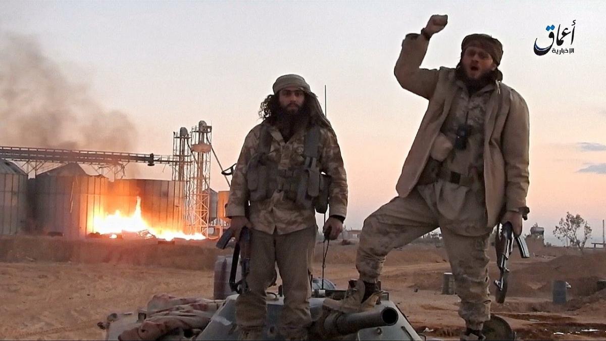 """Госсекретарь подчеркнул, что администрация США """"не допустит возрождения халифатов / скриншот"""