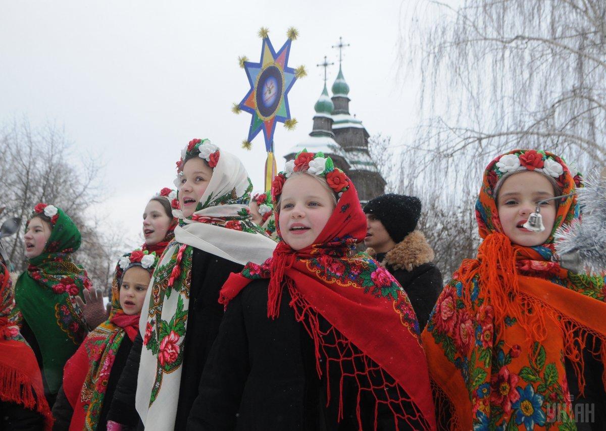 На Різдво заведено ворожити на дітей / фото УНІАН