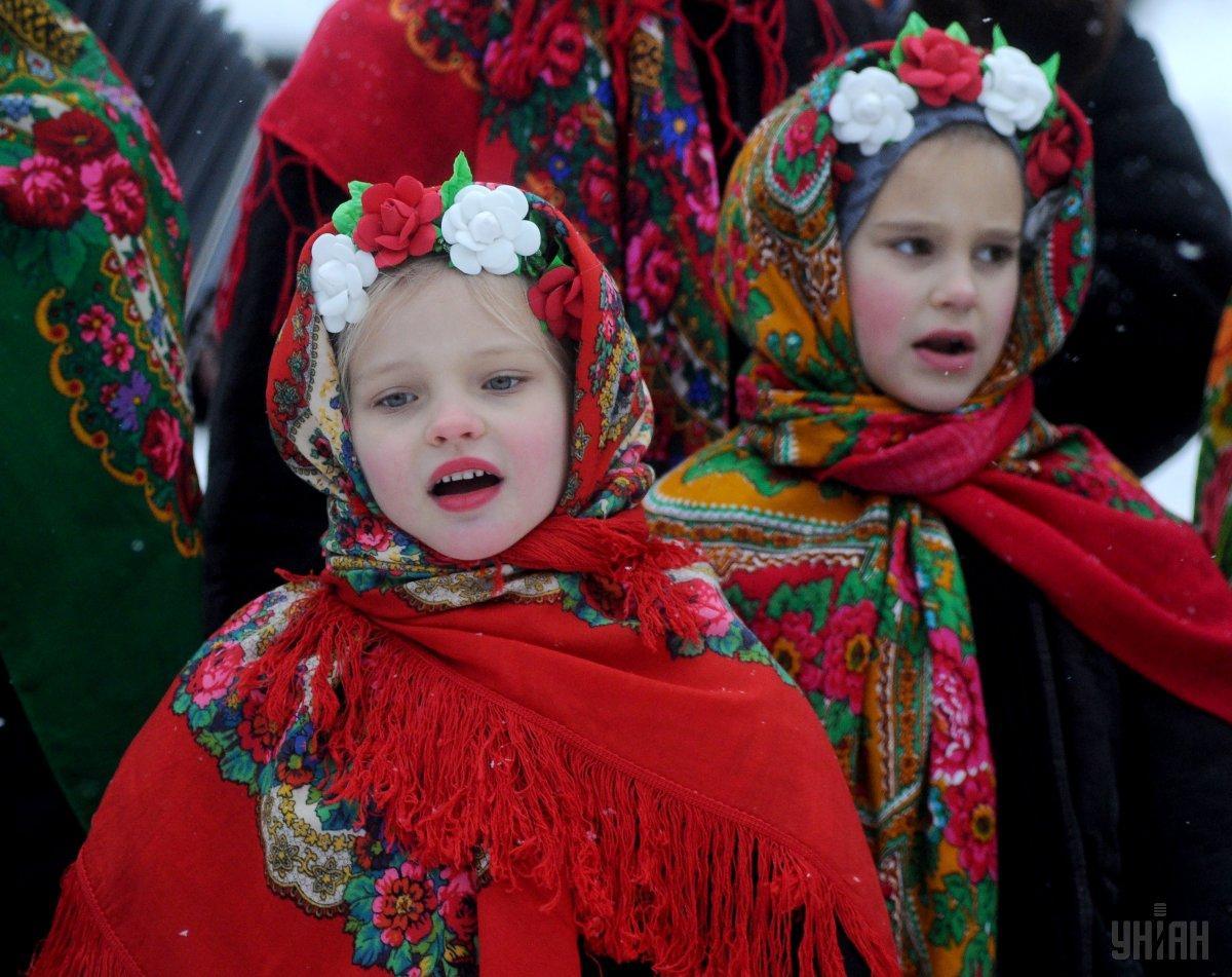 Всесвітній день української хустки 2021 / фото УНІАН