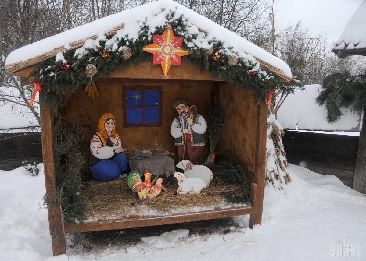 Православні святкують Різдво Христове / фото УНІАН