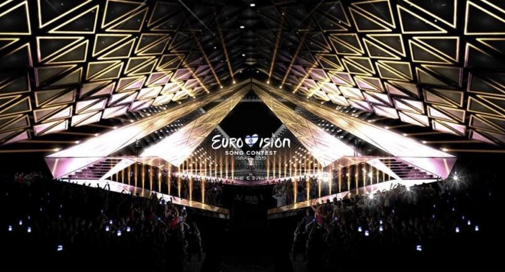 Израиль продемонстрировал знак будущего «Евровидения»— трехмерная звезда