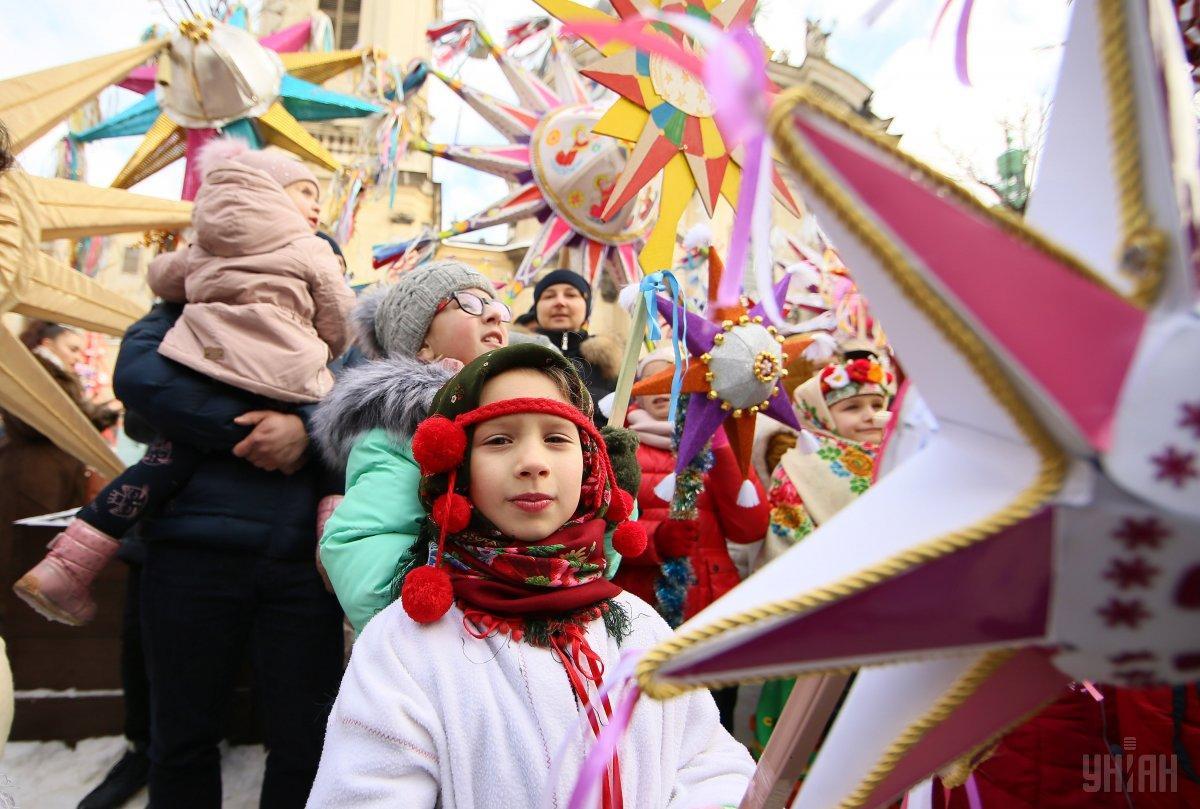Туристы говорят, что получают удовольствие от шествия \УНИАН