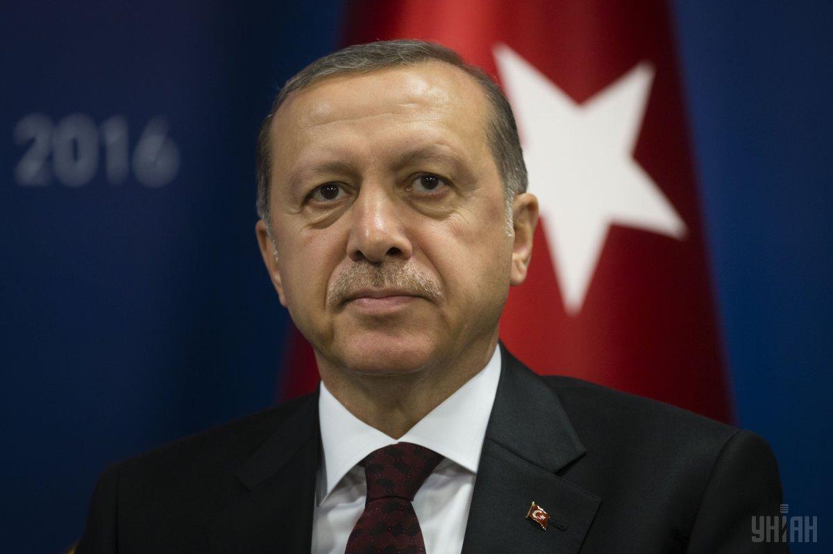 Ердоган поскаржився, що держави, які вже мають ядерну зброю, чинять активний тиск на інших / фото УНІАН