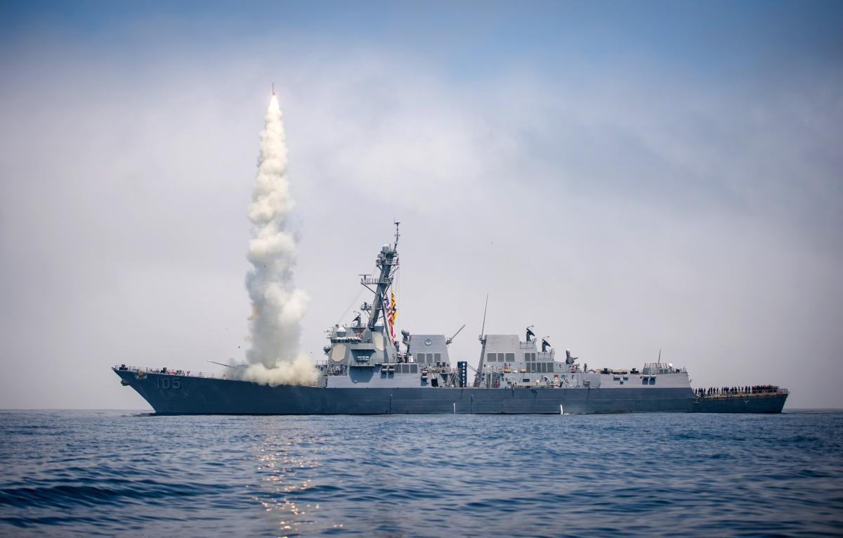 Миноносец USS Dewey ВМССША / фото flickr.com/127906254@N06
