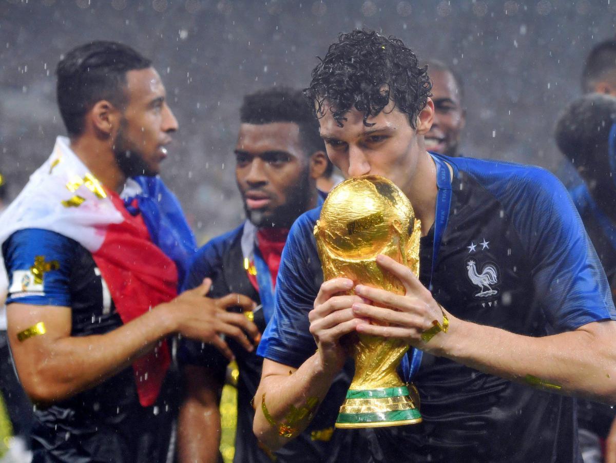 Бенджамен Павар выиграл ЧМ-2018 в составе сборной Франции / twitter.com/FCBayern