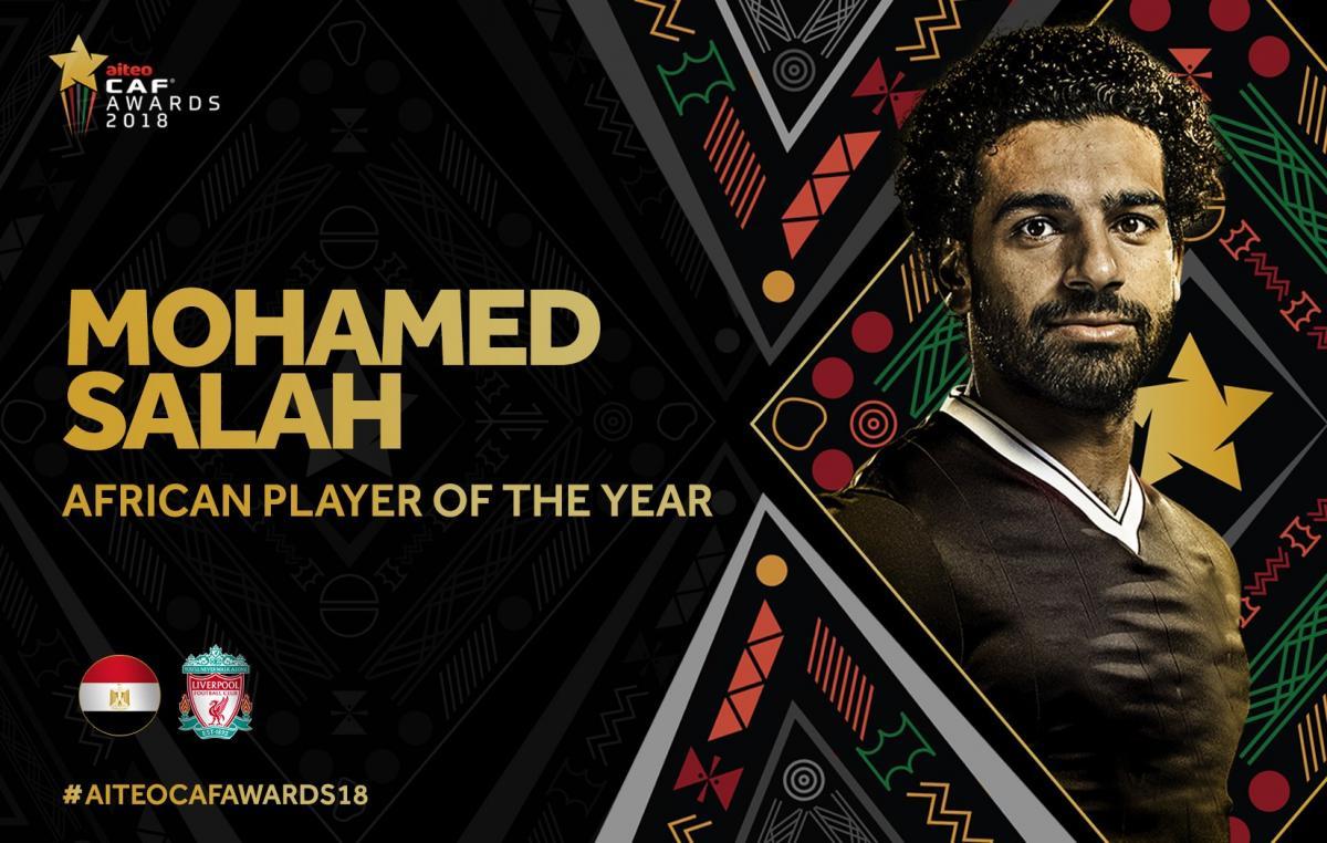 Мохаммед Салах - лучший игрок Африки второй год подряд / twitter.com/CAF_Online