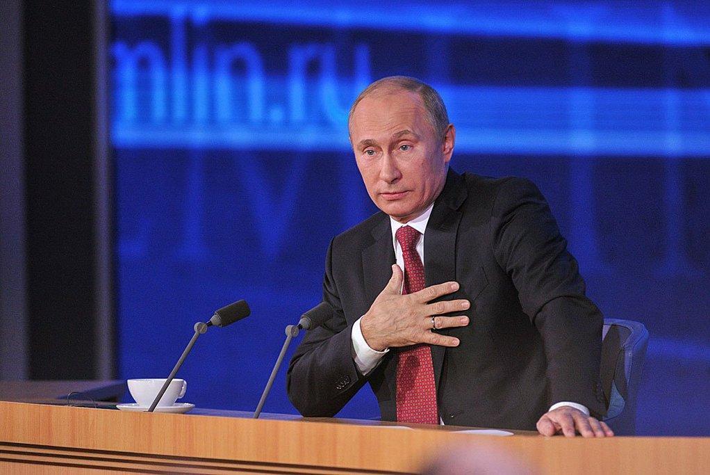 У Росії оштрафували активіста за репост у соцмережі / Фото Кремля