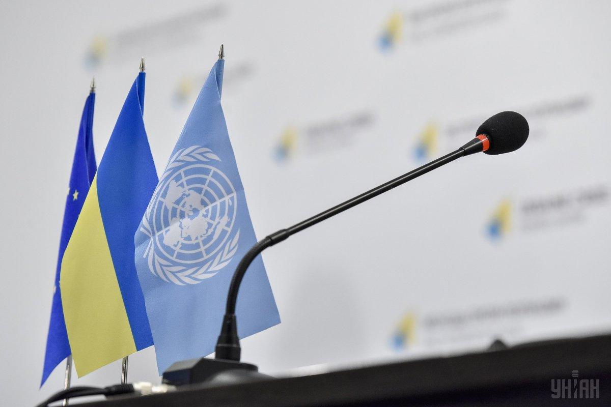 В ООН закликали Росію привітати Зеленського з перемогою на виборах і припинити вогонь на Донбасі / фото УНІАН