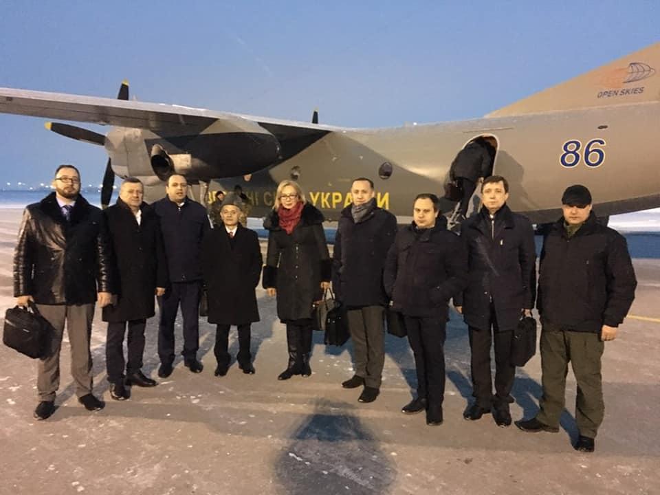 Денисова вылетела в Одессу / фото facebook.com/denisovaombudsman