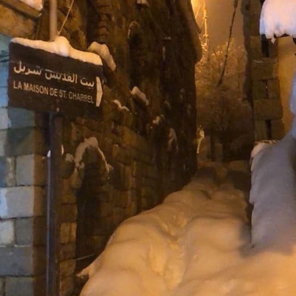 Ліван накрило снігом / instagram.com/eyesoflebanon