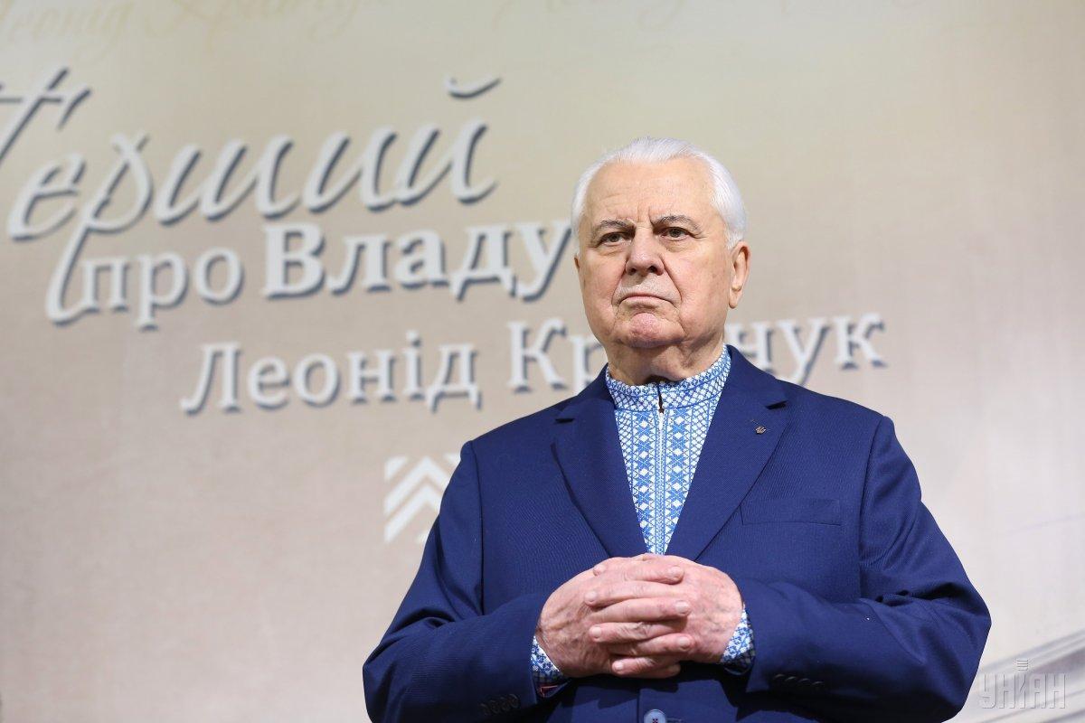 В решениях Германии и Франции нет твердости и последовательности, считает Кравчук / фото УНИАН