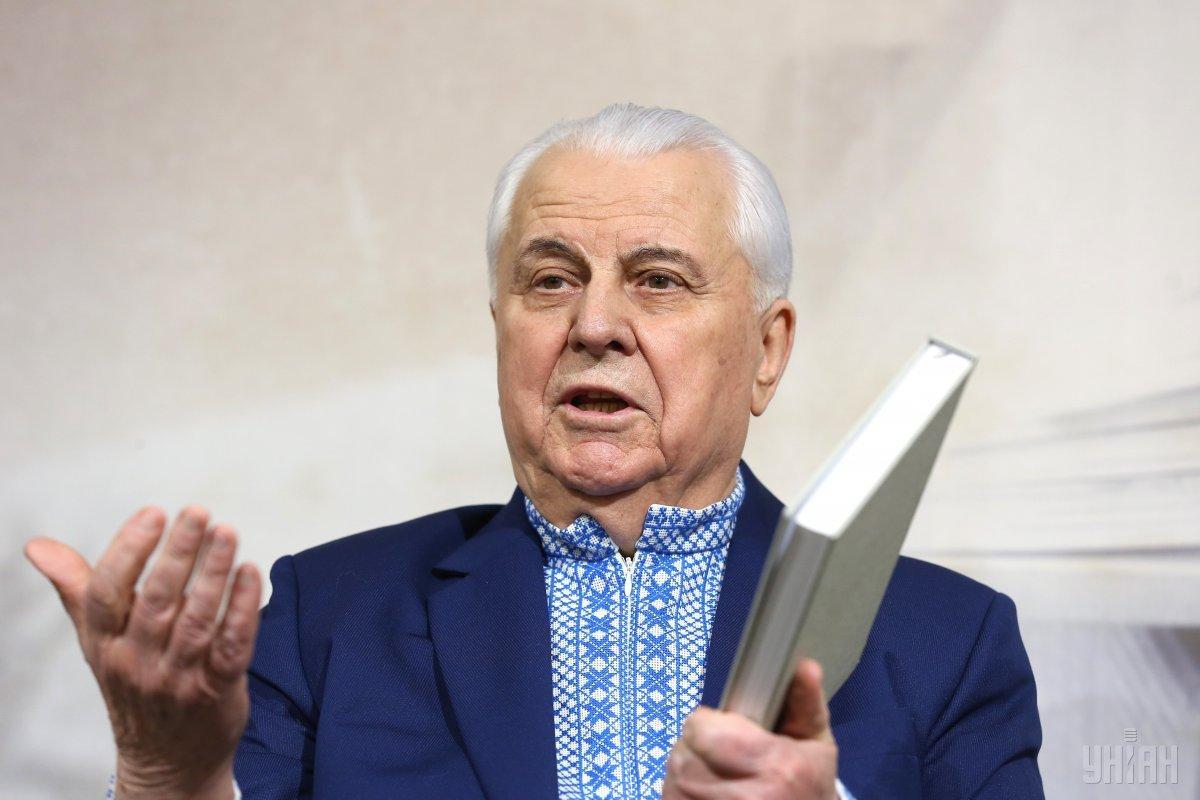 Кравчук вошел в состав ТКГ / фото УНІАН