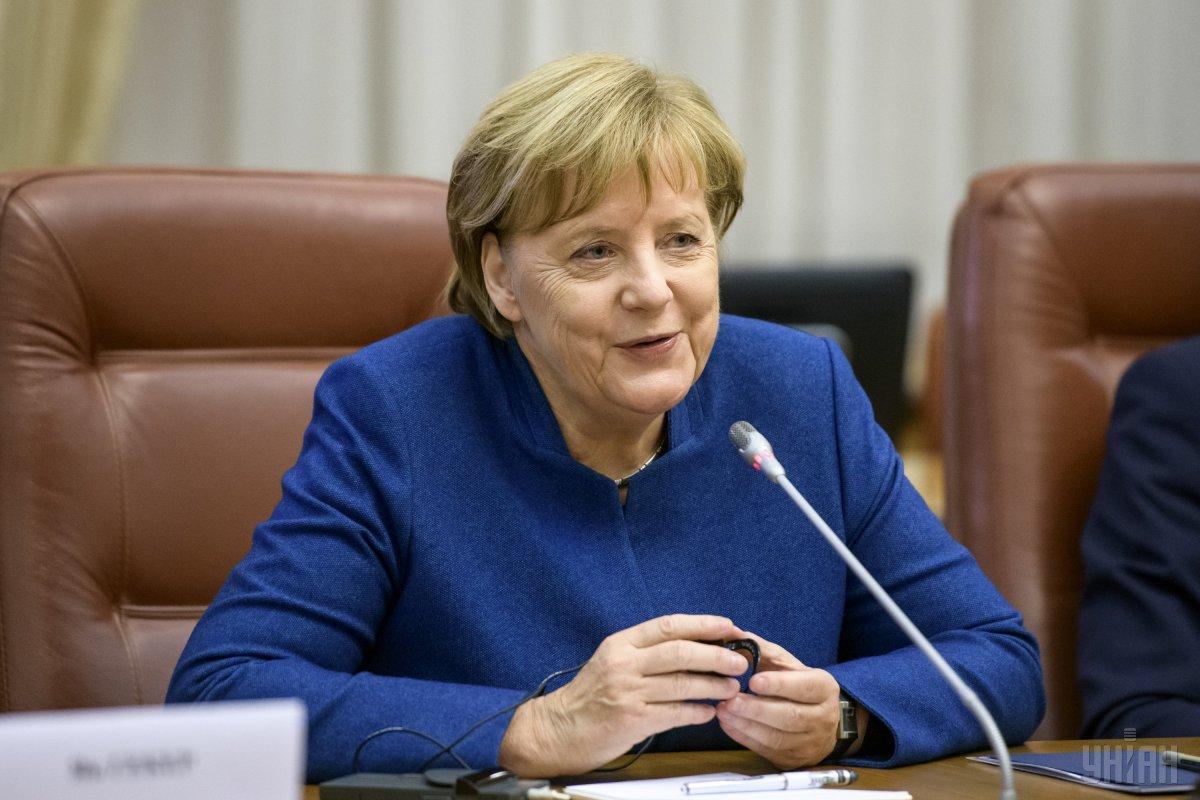 Ангела Меркель / фото УНІАН