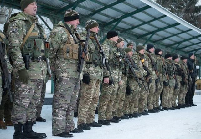 В зону ООС вирушили 30 бійців роти поліції «Тернопіль» / фото прес-служба ТОДА