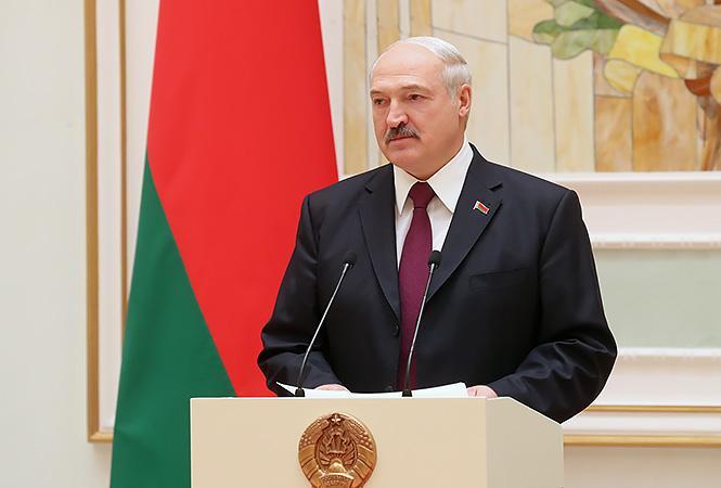 Лукашенко объяснил свое видение конфликта на востоке Украины / фото president.gov.by