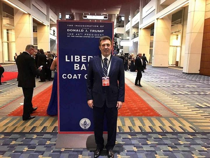 Kivalov was among those Ukrainians who attended the Liberty Ball / Photo from facebook.com/s.kivalov/photos