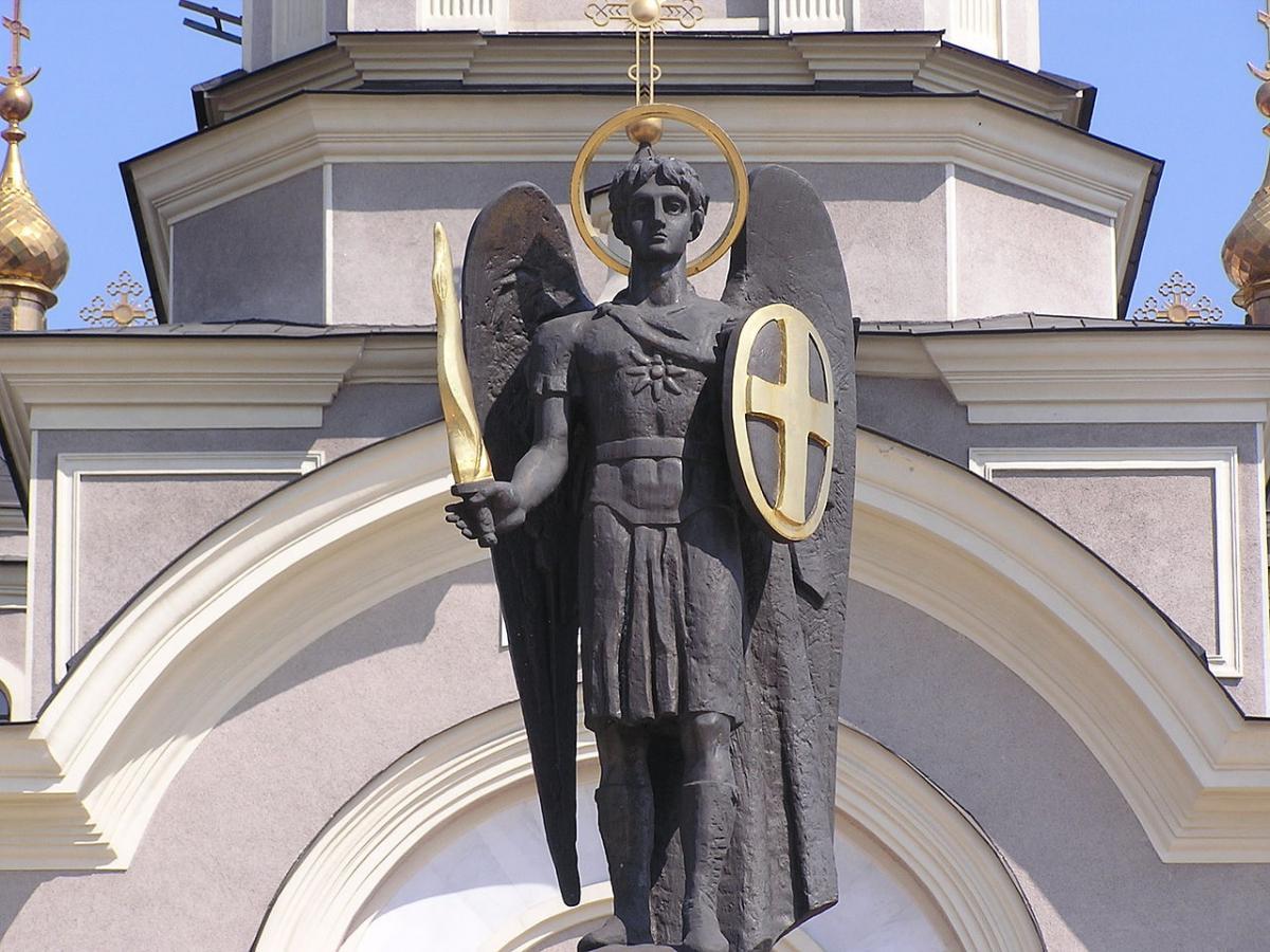 Умер создатель скульптуры архангела Михаила / фото wikipedia.org