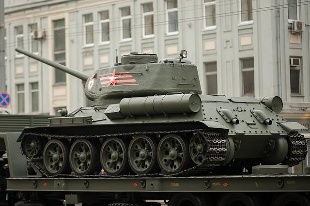 Пропаганда Росії перекинулася на Т-34 після провалу Т-14 / Flickr/Dmitriy Fomin