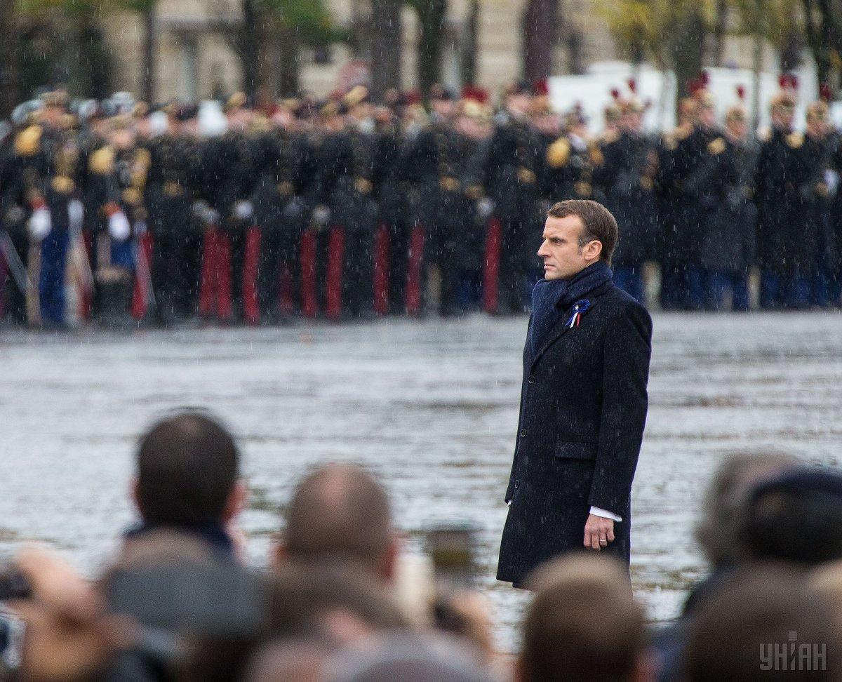Макрон отказался ехать на экономическийфорум/ фото УНИАН