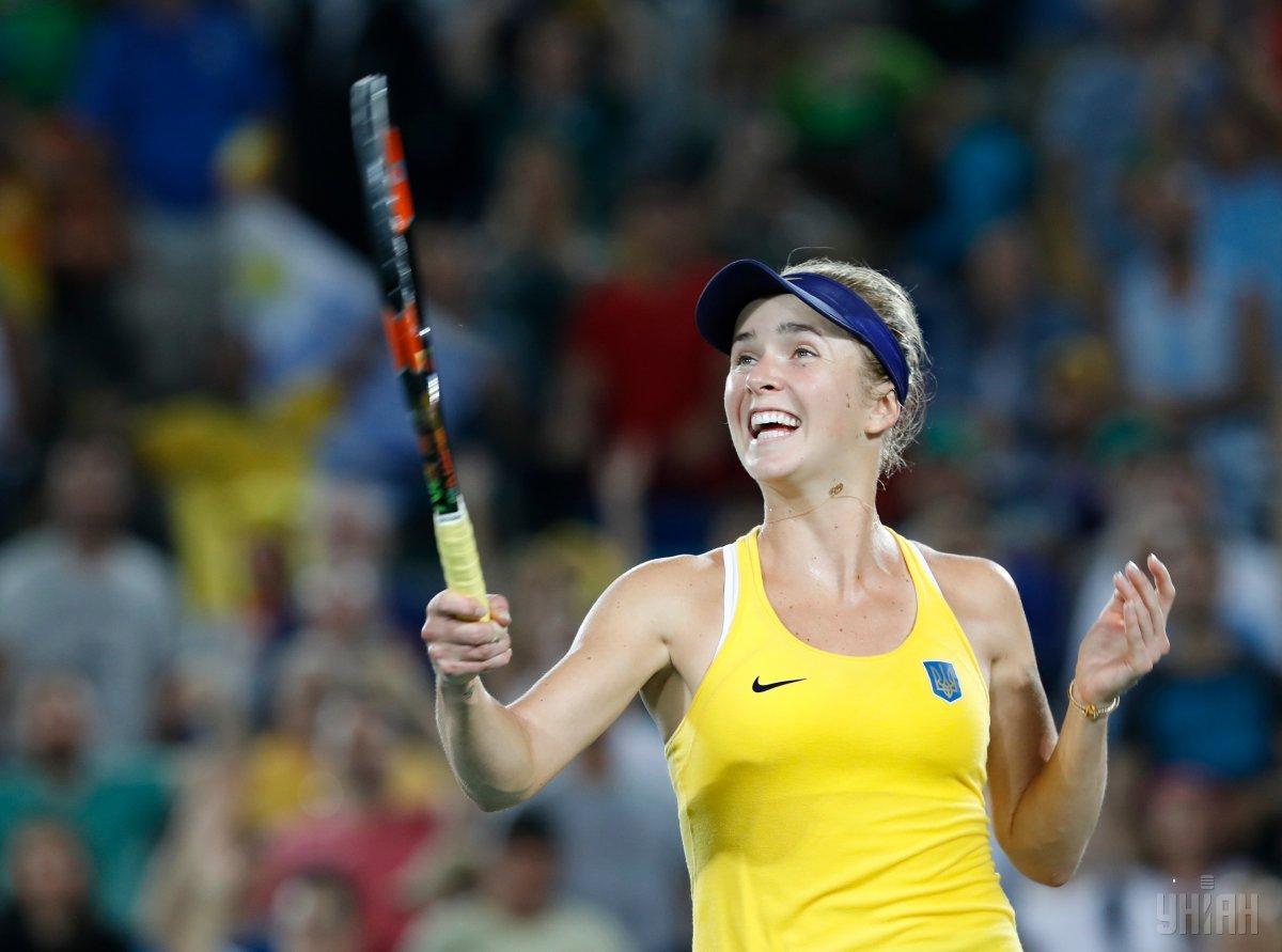 Элина в прошлом году в Мельбурне в итоге дошла до четвертьфинала / фото УНИАН