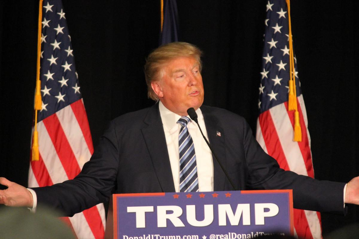 Малпасс является приверженцем Трампа/ фото flickr.com/Matt Johnson