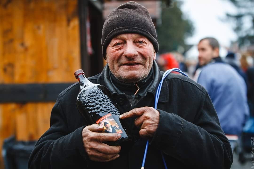 Знаменитий сажотрус Берталон-бачі – традиційний гість фестивалю / Фото УНІАН