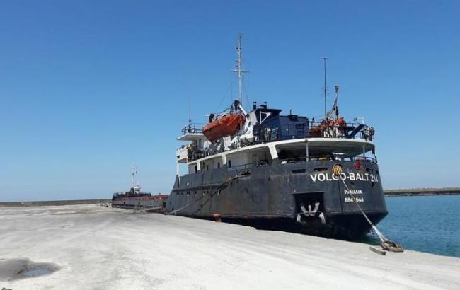 Грузовое судно Volgo Balt 214 затонуло в Черном море / фото marinetraffic.com