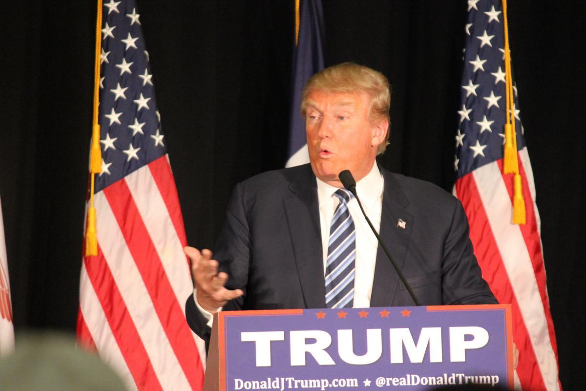 Трамп очень силен и за ним стоятогромные финансовые силы, сказал Соскин \ фото flickr.com/Matt Johnson