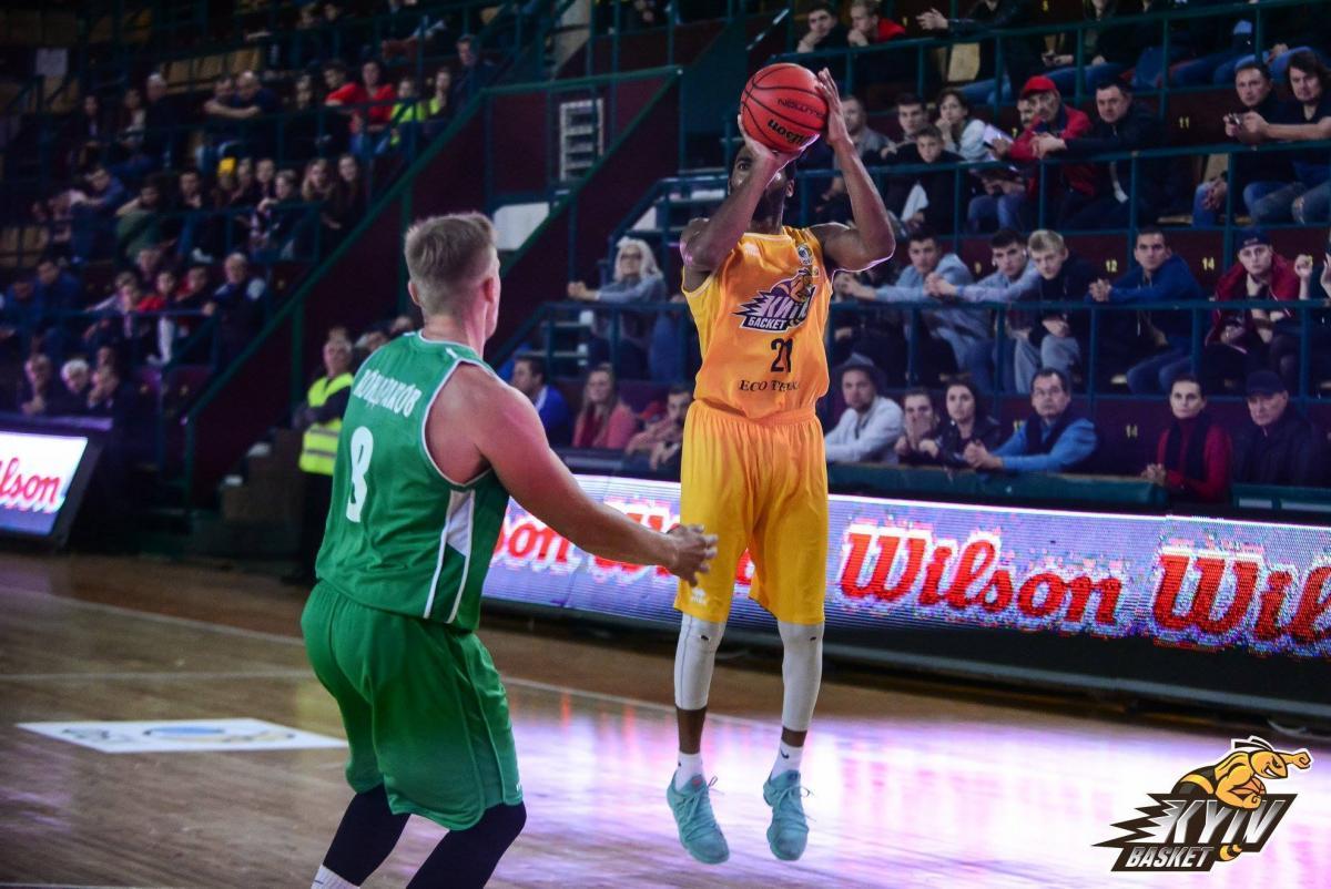 Киев-Баскет обыграл гостей из Запорожья в матче баскетбольной Суперлиги / fbu.ua