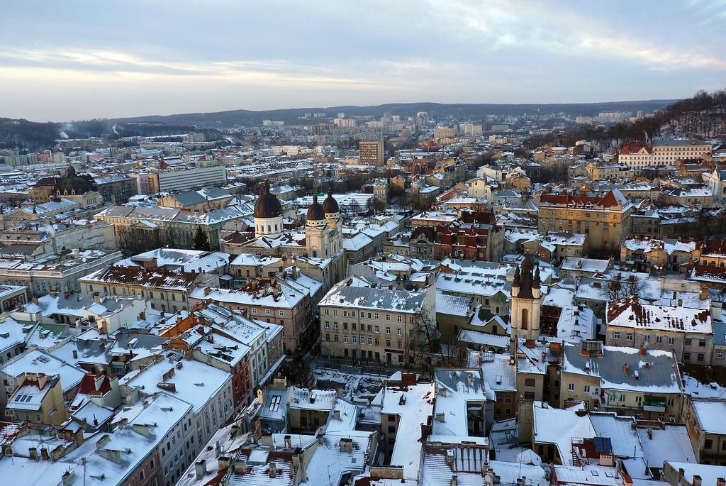 Lviv in winter / Photo from flickr.com/Denis Bondariev