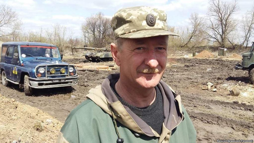 Військовик загинув у ДТП / фото Василь Думанський/facebook