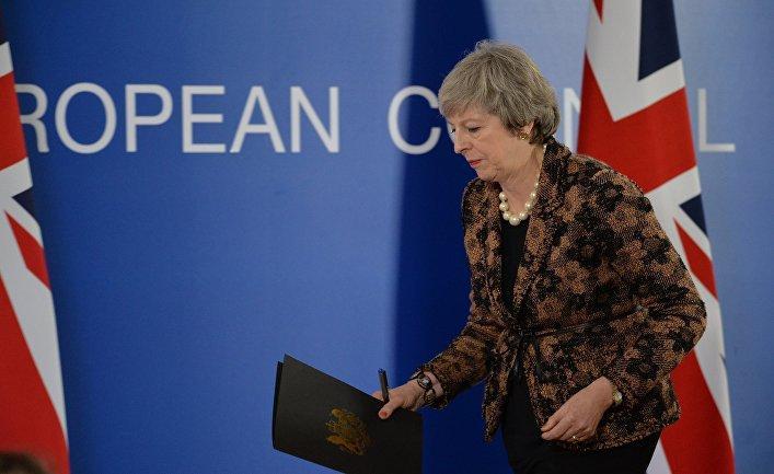 Мэй подчеркнула, что британские власти не могут подвести граждан, которые проголосовали за Brexit / Фото: Twitter