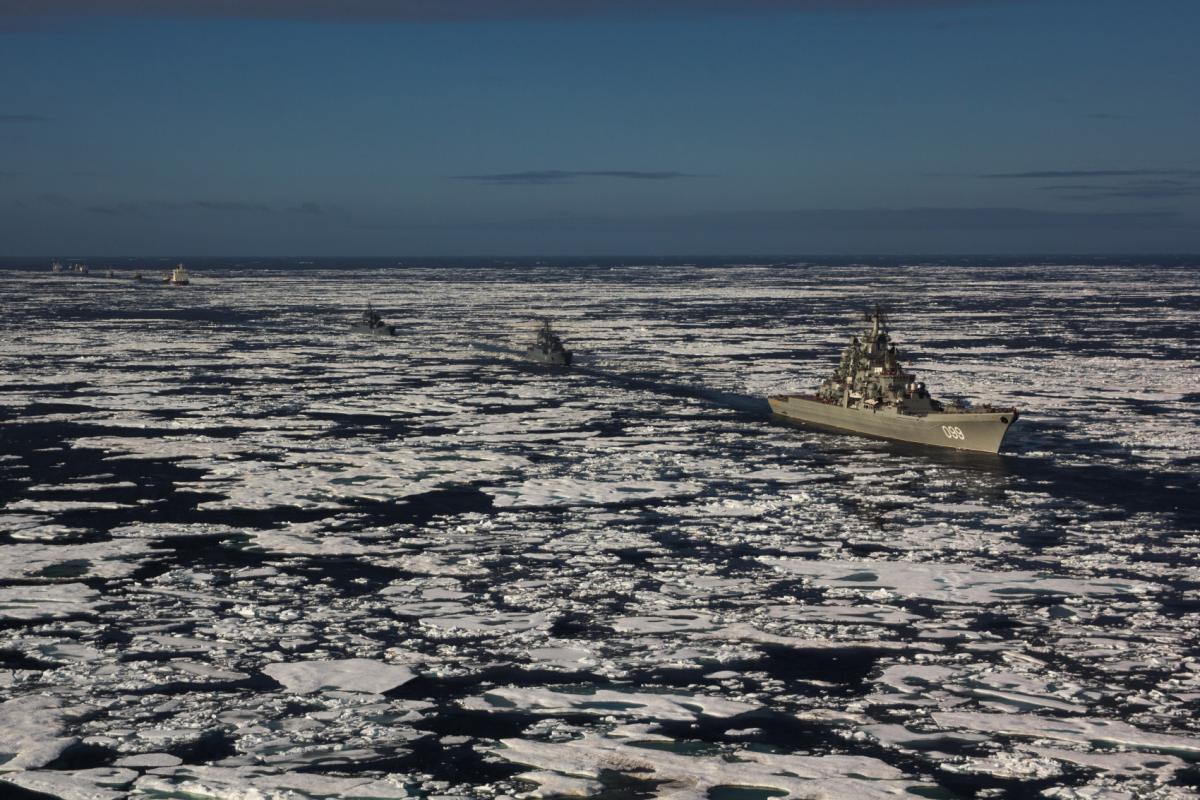 в Арктике возникла «напряженная обстановка» / Wki