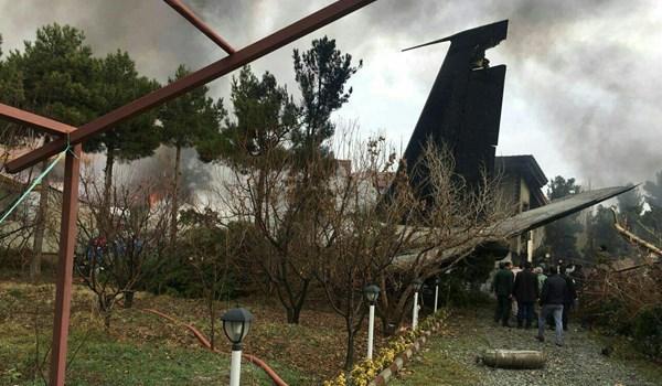 Літак не зміг сісти в межах смуги / фото ar.farsnews.com