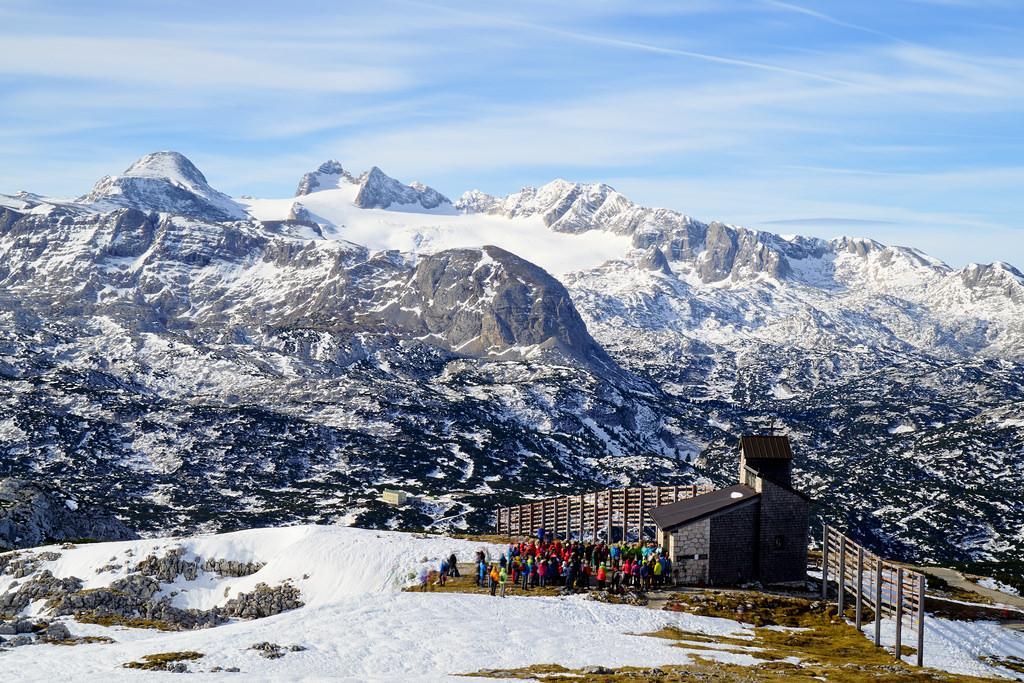 На популярних гірськолижних курортах Австрії тривають сильні снігопади / фото Flickr
