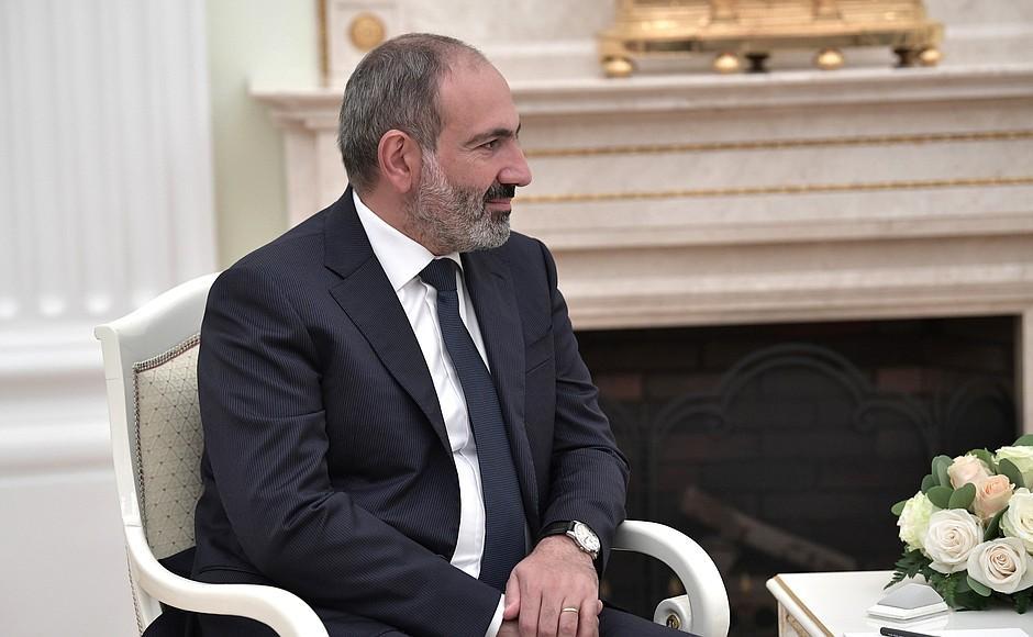 Пашиняна призначено прем'єр-міністром Вірменії \ kremlin.ru