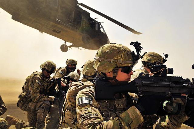 В армии США надеются создать первых универсальных солдат через 30 лет/ Flickr/The U.S. Army