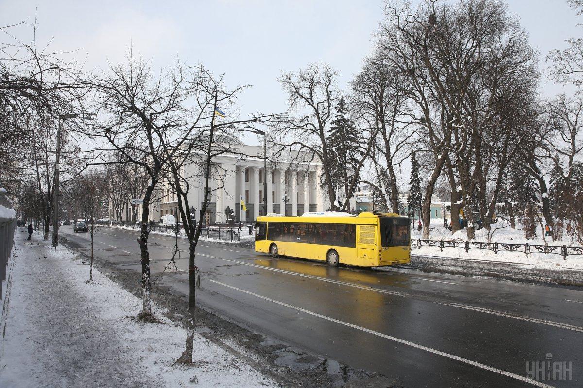 В Киеве приостановлено движение троллейбусов № 38 / фото УНИАН