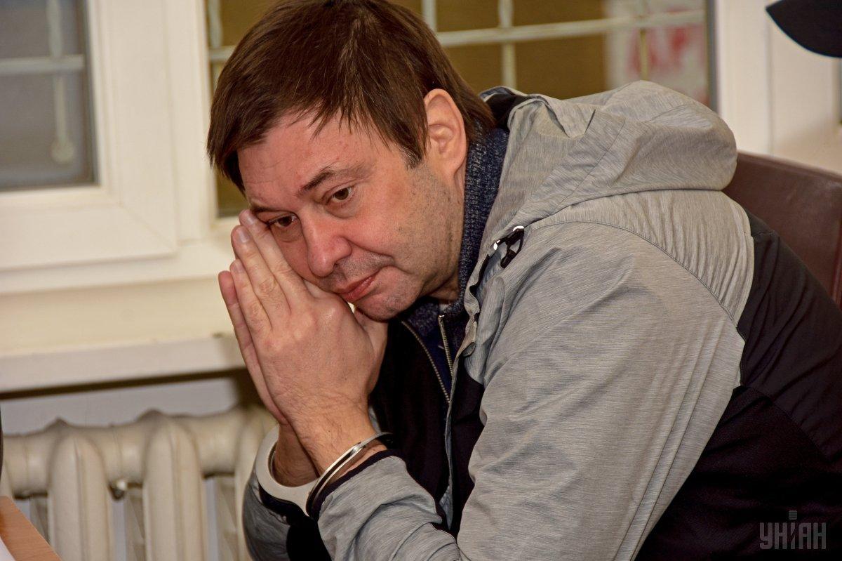 """Сегодня главреду """"РИА Новости Украина"""" продлили меру пресечения до 22 июля / фото УНИАН"""