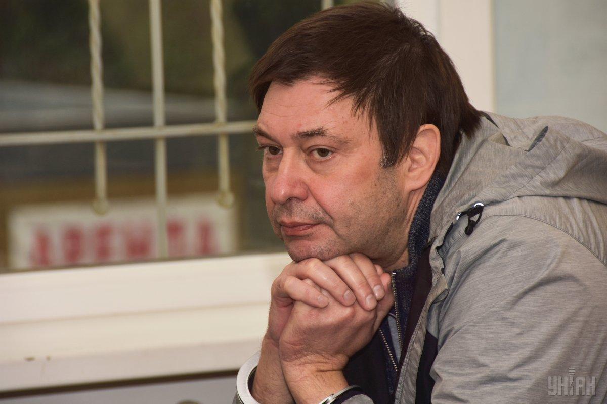 Вышинскому продлили арест до 8 апреля / фото УНИАН